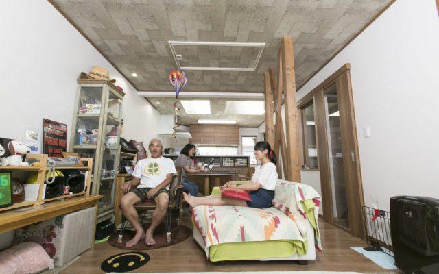 築40年狭小住宅 光と風を味方にした、逆転発想の家