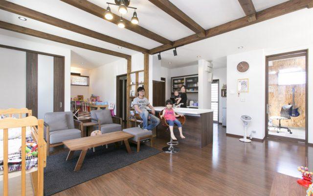 遊び心がいっぱい!親子で楽しむ、わくわくスタイルな家 新築