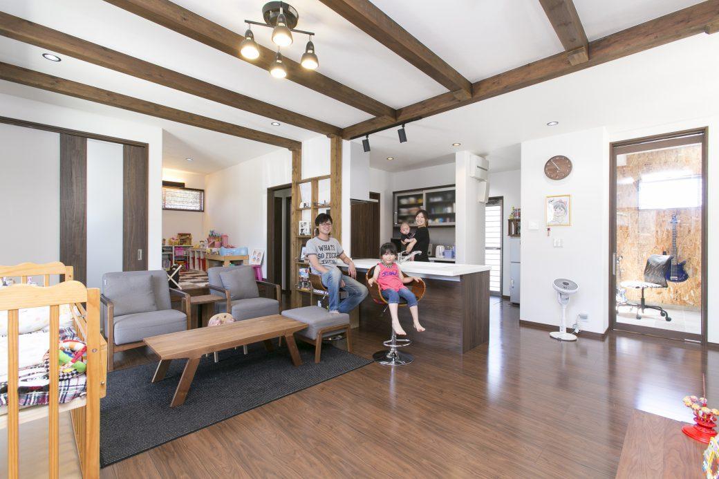 遊び心がいっぱい!親子で楽しむ、わくわくスタイルな家