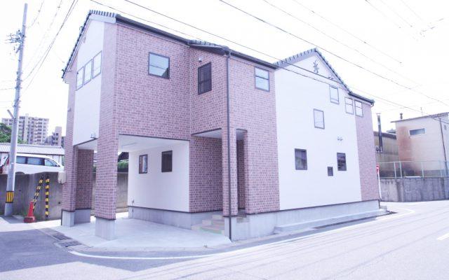 変形地に2世帯住宅