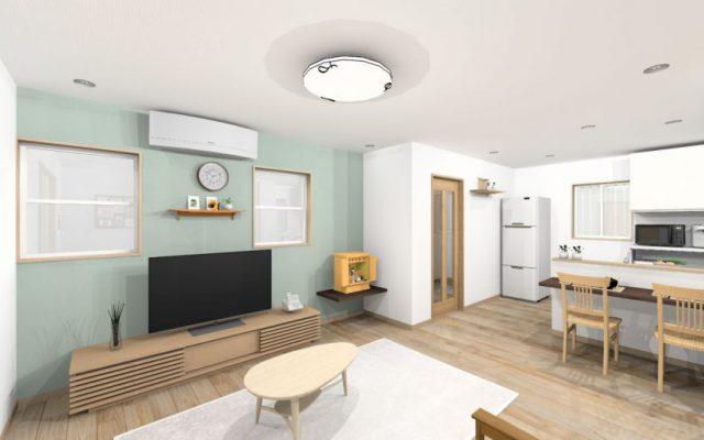 60年に渡り3世代が住み続けた家を減築してシンプルに! 着工